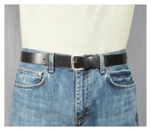 harness strap jean belt from Strait City Trading Company